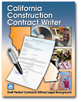 California Construction Contract Writer