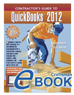 Contractor's Guide To Quickbooks Pro 2012