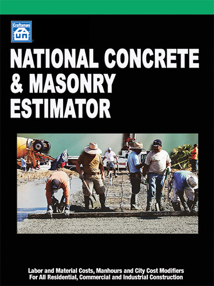 National Concrete & Masonry Estimator