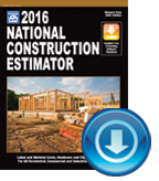 2016 National Construction Estimator