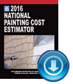 2016 National Painting Cost Estimator 30-Day Trial
