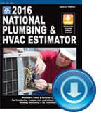 2016 National Plumbing and HVAC Estimator 30-Day Trial
