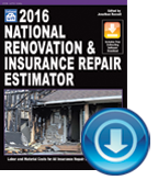 2016 National Renovation & Insurance Repair Estimator