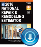 2016 National Repair & Remodeling Estimator