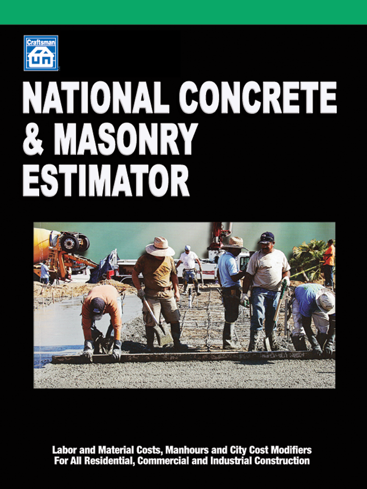National Concrete and Masonry Estimator 30-Day Free Trial