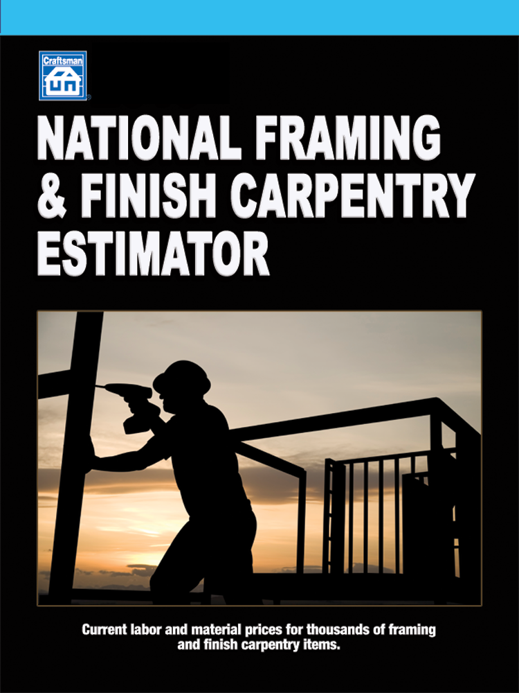 National Framing and Finish Carpentry Estimator 30-Day Trial